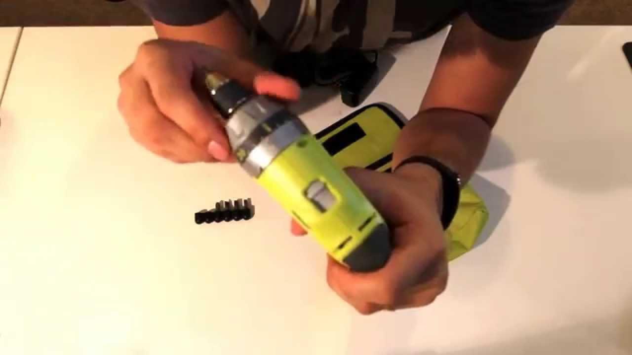 Review of the Ryobi TEK4 4-Volt Screwdriver HP53LK Screwdriver