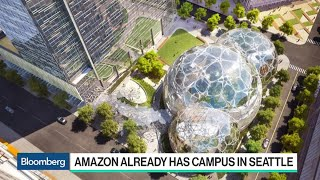 Amazon Announces Public Hunt for New Headquarters