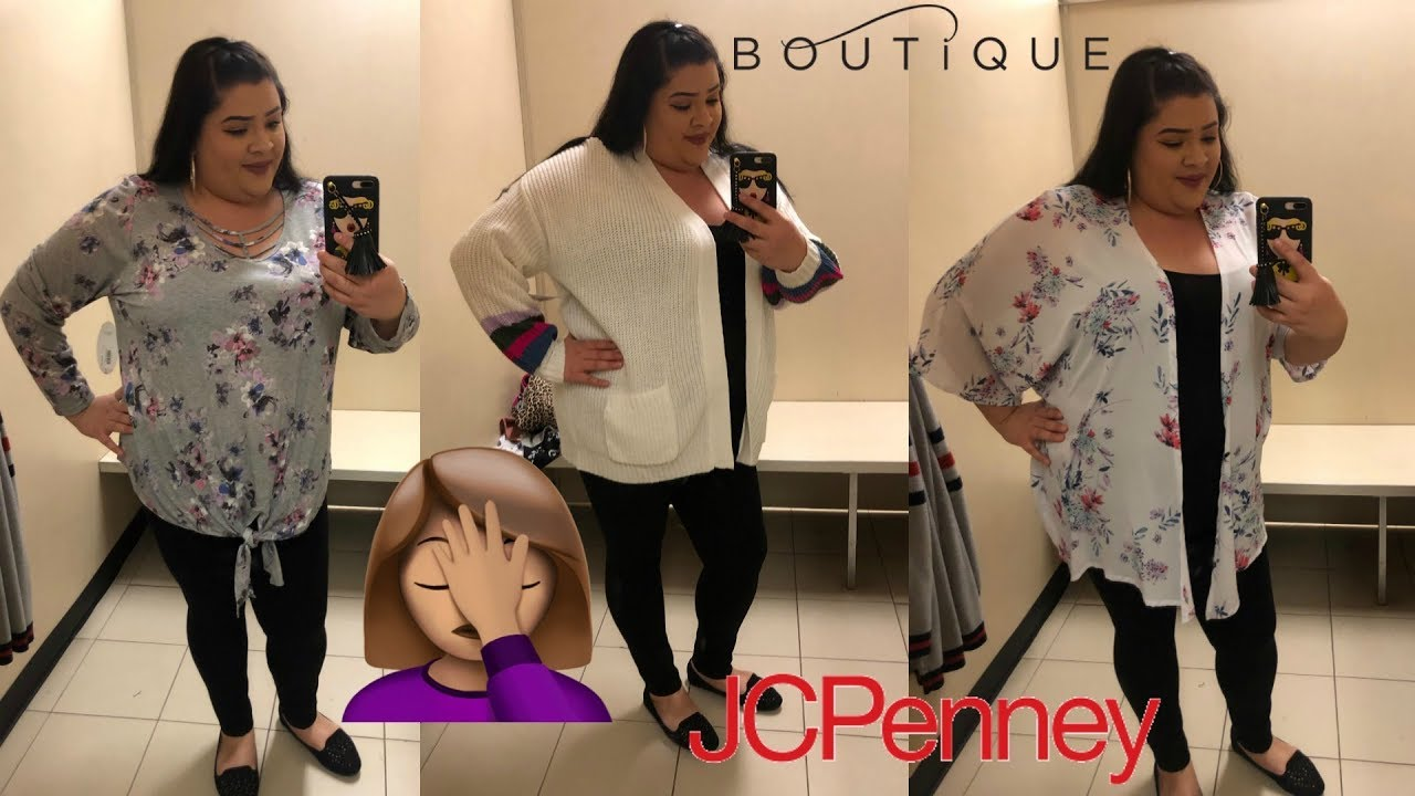7f822a734b2 PLUS SIZE INSIDE THE DRESSING ROOM ft. JCPENNEY