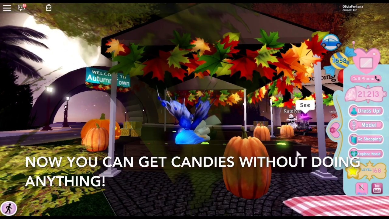 Autumn Town Is Finally Here Reacting To Autumn Town Royale High Brand New Update Roblox - How To Get Candies Fast In Royale High Autumn Town