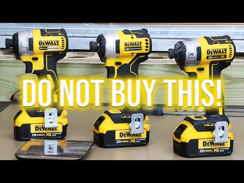 Best Impact Driver 2020 DON'T BUY DeWALT TOOLS NEWEST IMPACT DRIVER AND HERE'S WHY