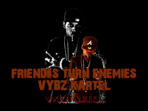 VYBZ KARTEL - FRIEND'S TURN ENEMIES (CHIMNEY RECORDS ***NEW***)