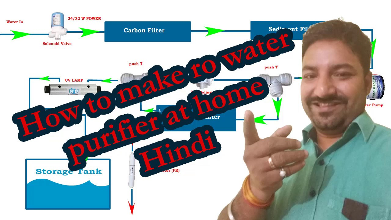 How To Make Ro Uv Uf Tds Water Purifier At Home Hindi Youtube Uvw Electric Motor Wiring Diagram