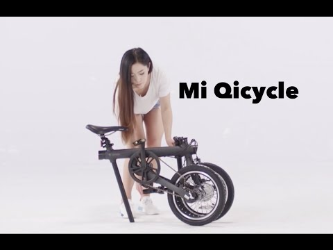 Mi Qicycle Folding Electric Bike - How to Fold and Unfold