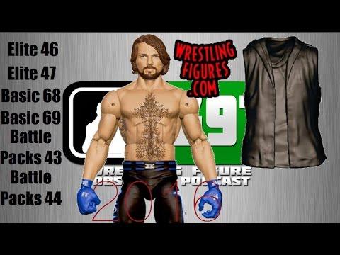 WWE Mattel Elite 46 and 47 - All Lineups for 2016 | Wrestling Figure Observer Podcast #11