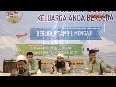 Muslim Family Day Out - Sesi 1 - Opening - Ustadz DR.Syafiq Bin Riza Basalamah