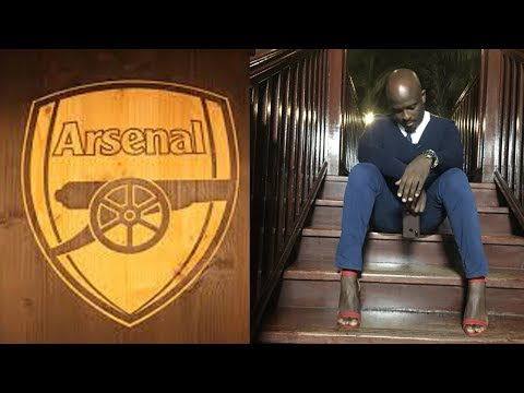 Arsenal fan and sports anchor wears heels after losing bet
