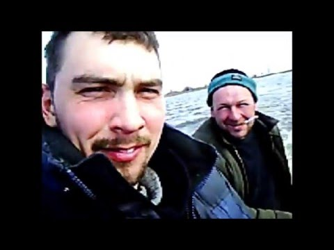Рыбалка на нижней Волге, весна