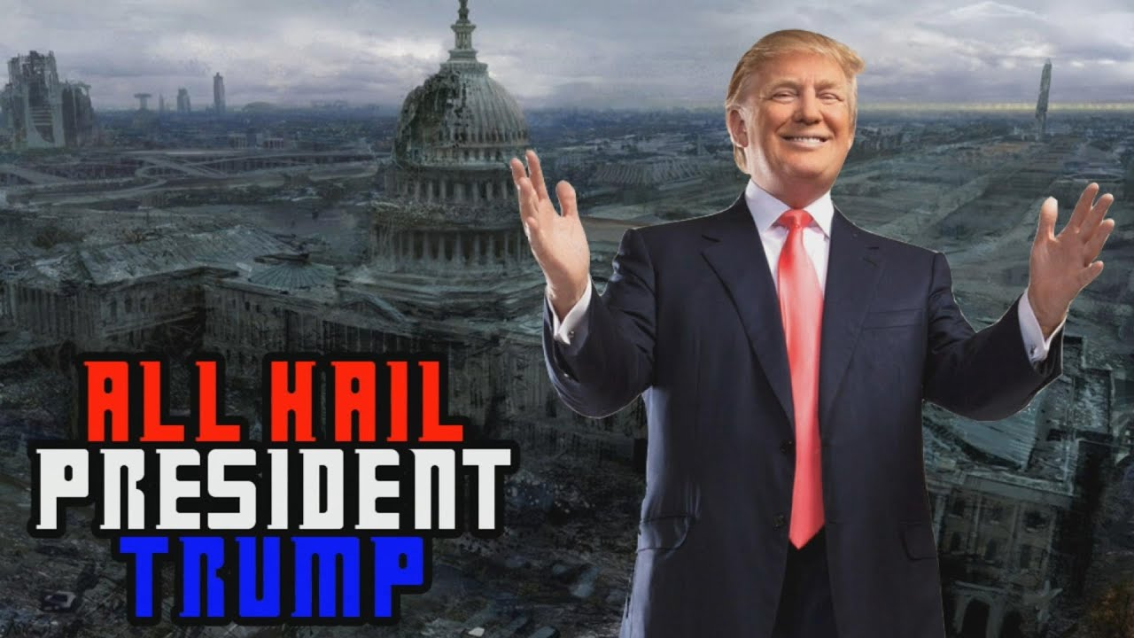Image result for hail trump