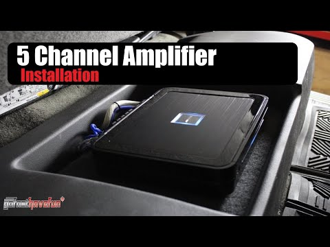 Builds: AnthonyJ350's Alpine PDX 5 channel amplifier upgrade (Chevy Silverado)