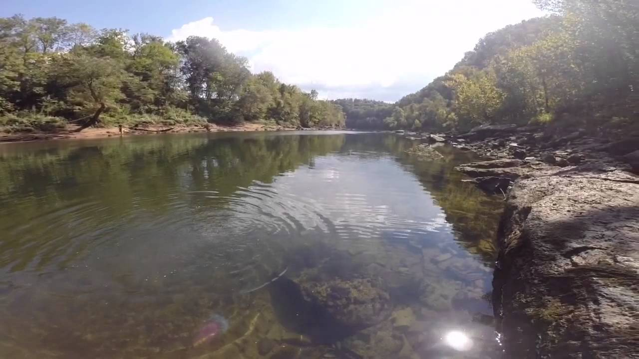 Go pro fly fishing cumberland river youtube for Fly fishing kentucky