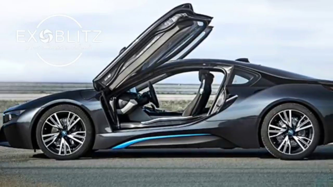 High Quality New BMW I8 Sports Car Of The Future   YouTube