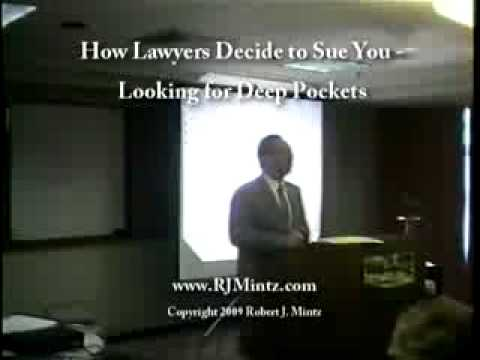 Asset Protection Seminar:  How Lawyers Decide to Sue You