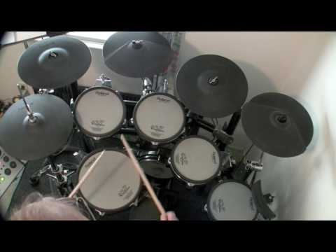 Born To Run - Bruce Springsteen (Drum Cover) drumless song track used