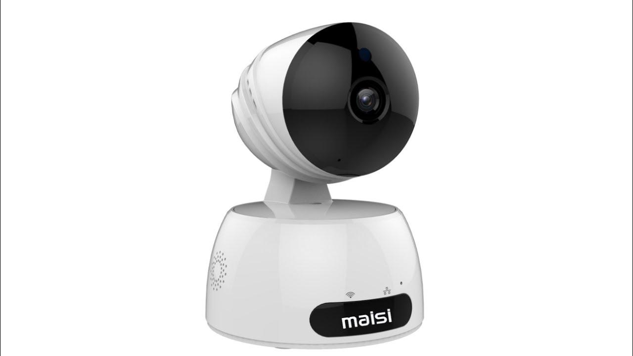 ZS - GX1 1080P WiFi IP Camera - Gearbest.com - YouTube