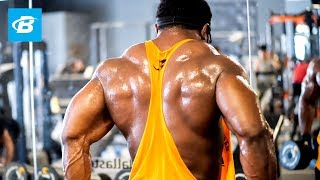 Classic Physique Full Back Workout | Kevin Ofurum & Courage Opara
