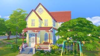 RAINBOW CLOWN HOUSE // The Sims 4: Speed Build