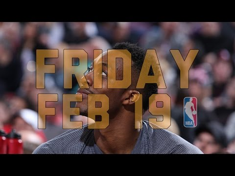 NBA Daily Show: Feb. 19 - The Starters