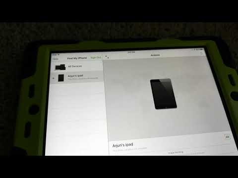 How to factory reset ipad mini if you forgot password