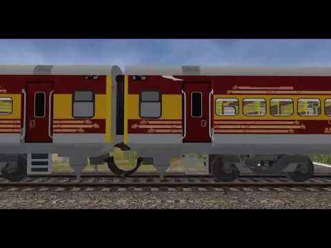 Nagpur-CST Antyodaya Express || MSTS Open Rails || Khandesh Route || Sajid Hashmi