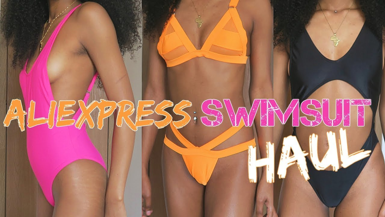 2018 Swimsuit Huge Under10 HaulAll Aliexpress wPZilTuOkX
