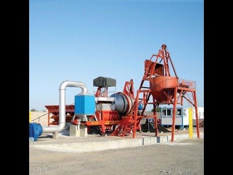 Асфальтный завод QLB-40. Принцип работы асфальтобетонного завода из Китая