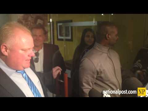 Mayor Rob Ford announces two new supporters: Ben Johnson and a Trailer Park Boys actor