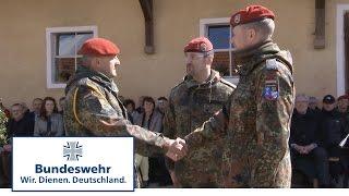 Abschied nach 35 Jahren Bundeswehr