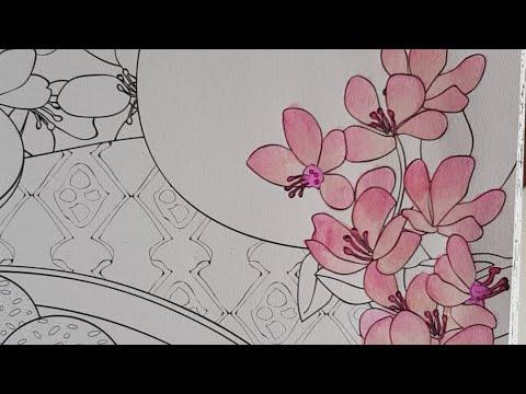 Tuto Fleurs De Cerisiers Japonaises 🌸 - YouTube