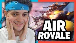DUO EN AIR ROYALE SUR FORTNITE BATTLE ROYALE ! COMBATS D'AVIONS !