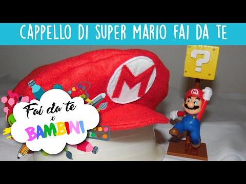 Cappello Da Super Mario In Pannolenci - Tutorial