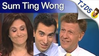 Flawless CNBC Anchors Shocked By 'Sum Ting Wong' Prank (TJDS)