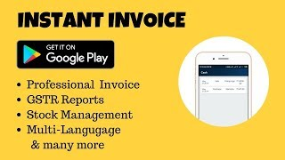 Free Billing,GST Invoice,Stock Inventory-All in one Android Application