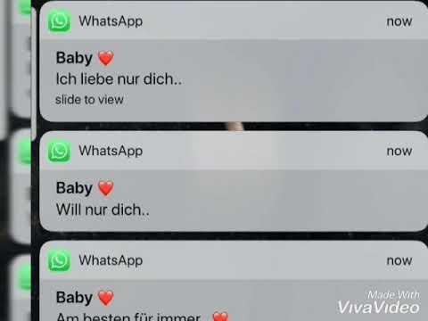 Nachrichten süße whatsapp bilder Wie hackt