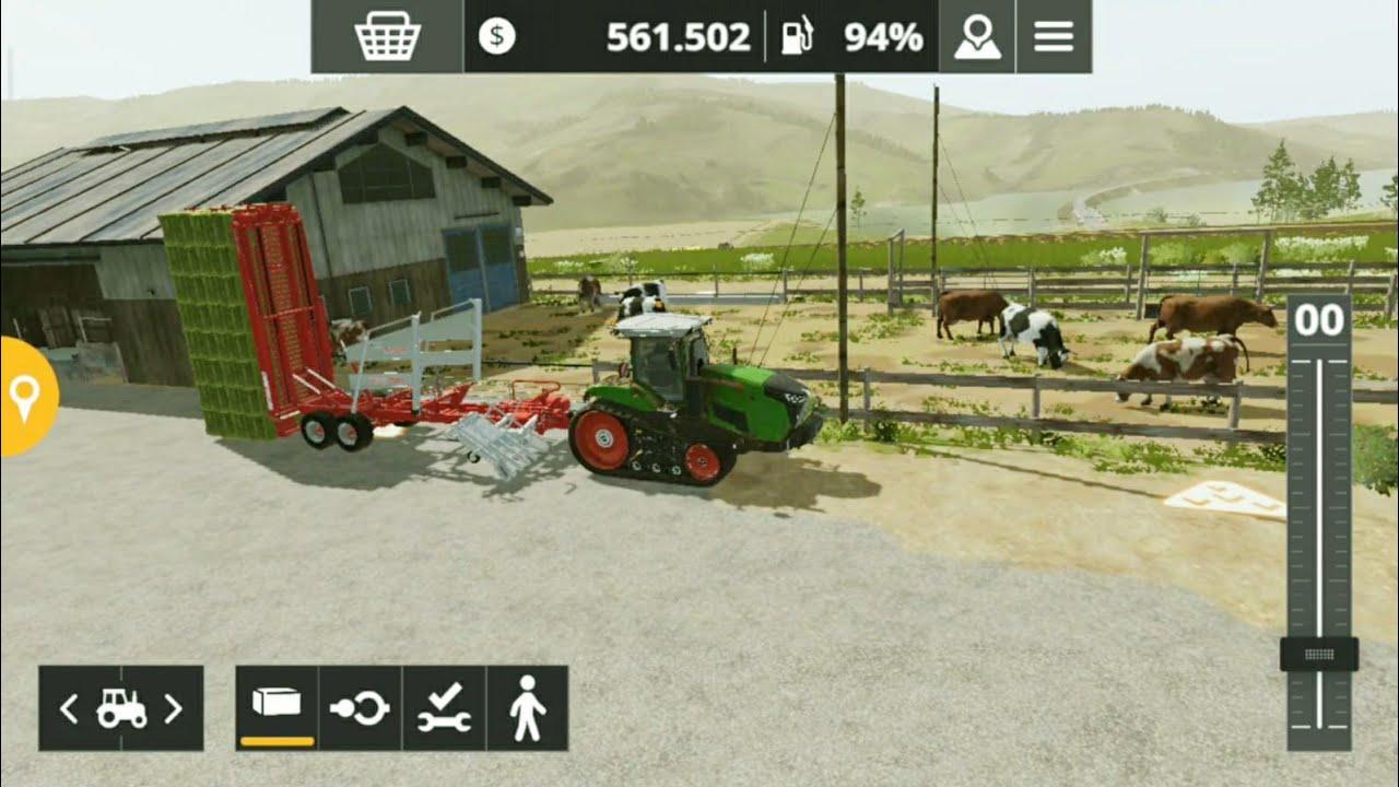 Fs20 farming simulator 20 / ineklere su vermek / give cows water / # 930 HD
