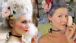 Marie Antoinette    Halloween Tutorial