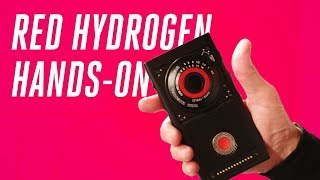 RED Hydrogen One hands-on