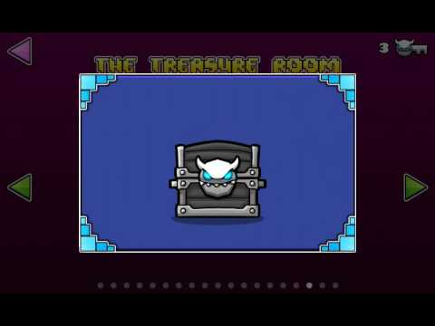 Geometry dash world treasure room and vault of secrets for Vault of secrets