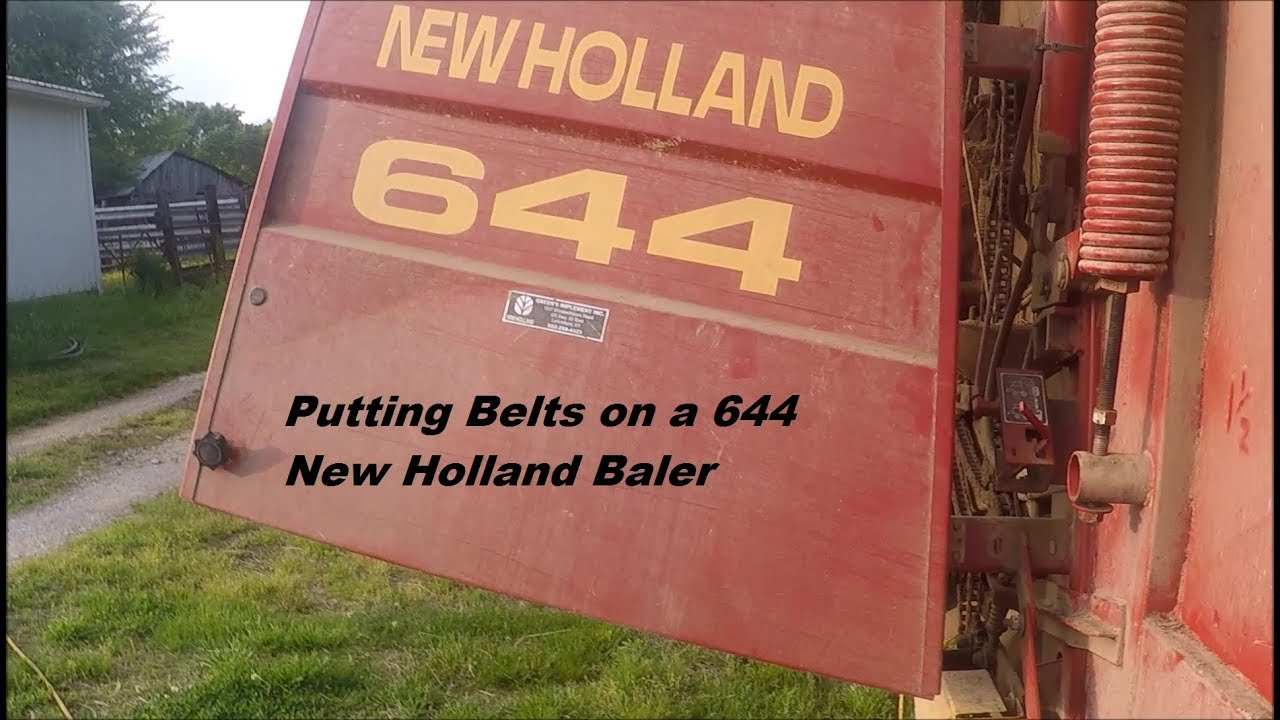 New Holland Round Baler 644 Parts Manual Tractor Manuals & Publications