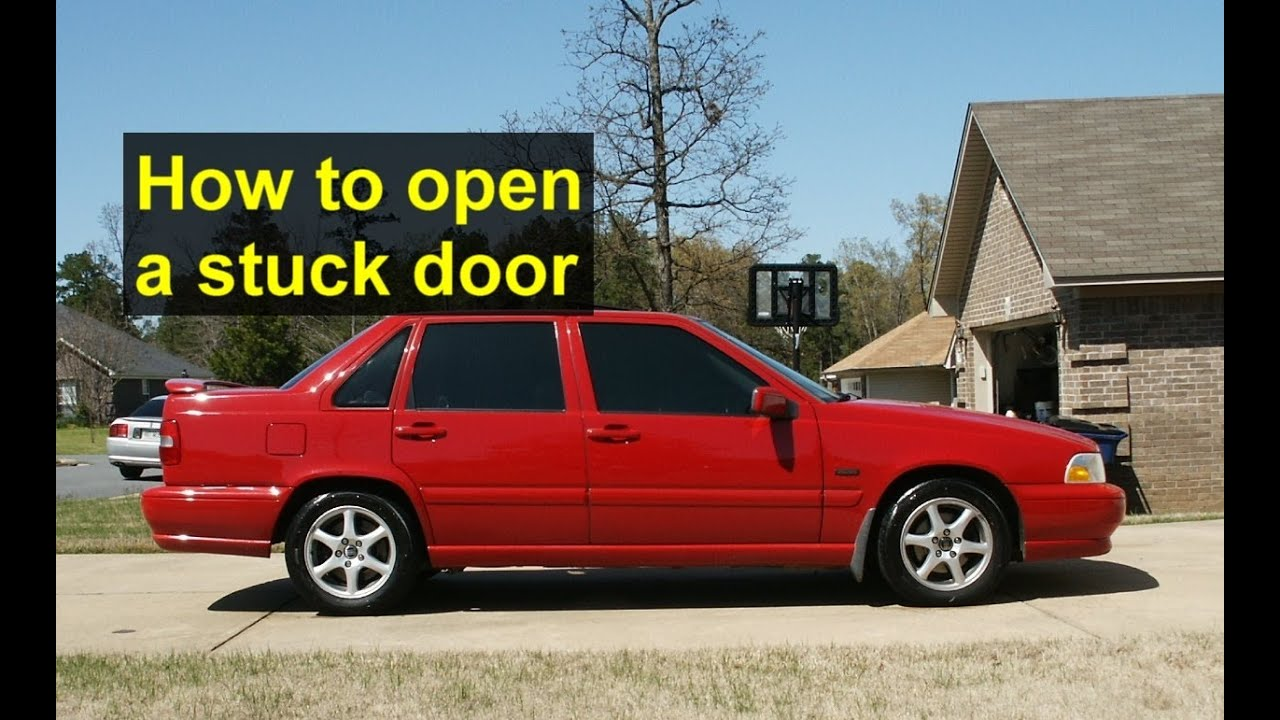 How to open a stuck door latch Volvo S70 V70 XC70 etc. - Auto Repair Series - YouTube & How to open a stuck door latch Volvo S70 V70 XC70 etc. - Auto ... Pezcame.Com