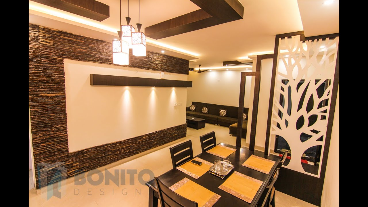 Mr Aravind Interiors Wenge Based Interior Decoration