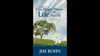 The Five Major Piece to the Life Puzzle  Audiobook By Jim Rohn