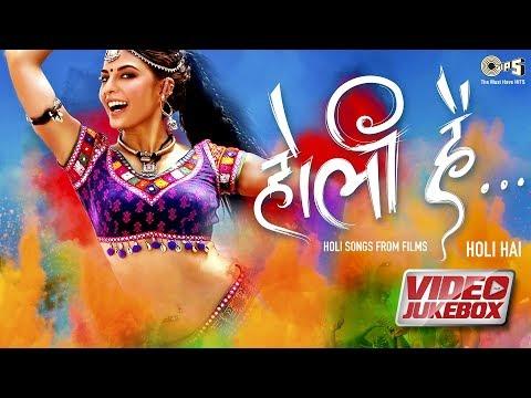 Holi Hai Video Jukebox   Holi Biraj Ma   Chamma Chamma   Race 3   Race 2   Ramaiya Vastavaiya