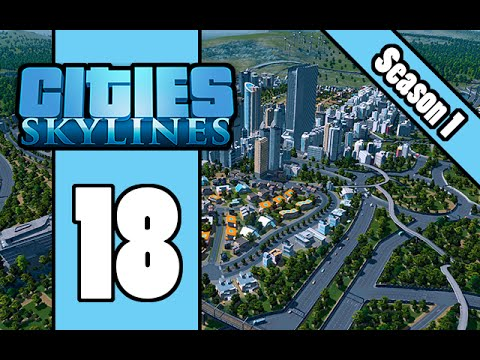 Cities Skylines - E18 - Central Business District