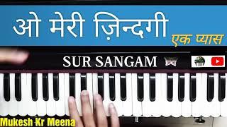 Meri zindegi ek pyas/Movie JUDAAI Harmonium Lesson By Sur Sangam