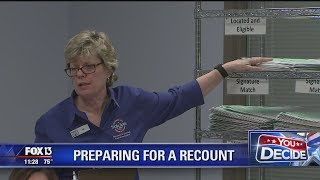 Florida counties evaluate ballots, prepare for recounts