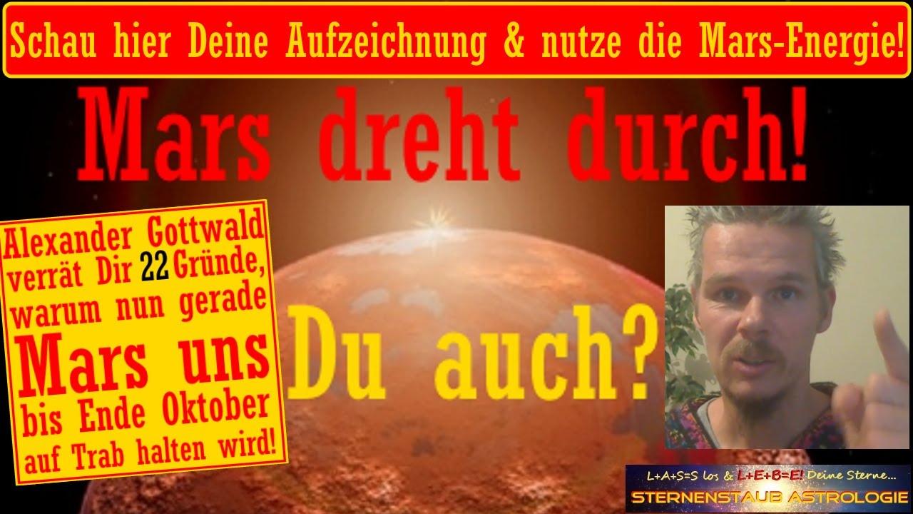 Horoskop August September Oktober 2016 Mars Dreht Durch Du Auch