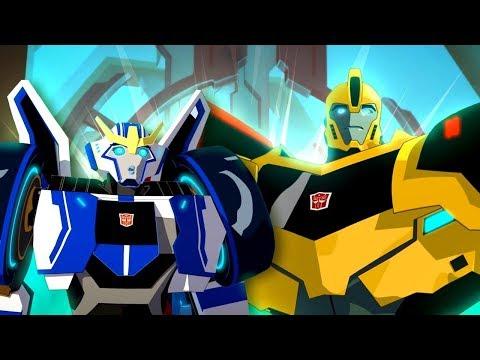 Transformers çizgi Film. Gizlenen Robotlar 1-2 Bölümler. Çocuklar Için