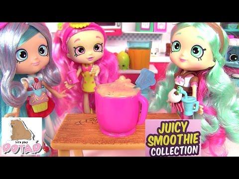 Видео для Детей! Шопкинс Мультик! СОКОВЫЖИМАЛКА! JUICY SMOOTHIE COLLECTION Шопкинс Игрушки