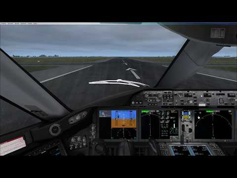 FSX New TDS 787-9 KLM Review and Full Flight by Bikercad Flies